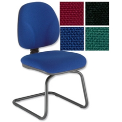 Sonix Choices Cantilever Visitors Chair Blue