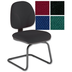 Sonix Choices Cantilever Visitors Chair Charcoal