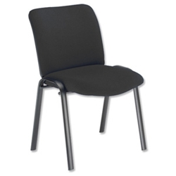 sonix Mode Side Chair Stackable Back H400mm