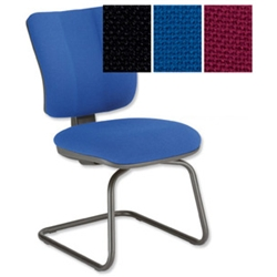 Sonix Mode Visitors Chair Blue