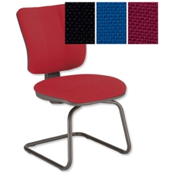 Sonix Mode Visitors Chair Burgundy