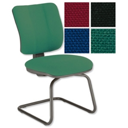 Sonix Mode Visitors Chair Green