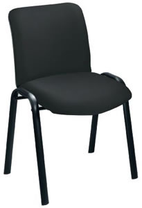 Sonix Reception Side Chair W490xD460dH875mm Back