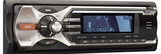 Sony - MEX-BT5000 - Car Audio CD Tuner