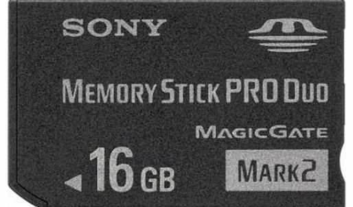 Sony 16Gb Memory Stick Pro Duo Mark 2