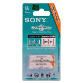 Sony 2x AA 2000mAh Cycle Energy Blue Blister Pack
