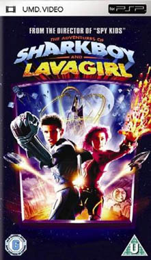 Adventures Of Sharkboy & Lavagirl 3D UMD Movie PSP