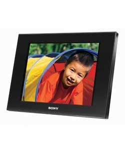 DPF-D80 8in Digital Photo Frame - Black