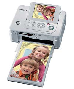 DPP-FP65 Digital Gloss White Photo Printer