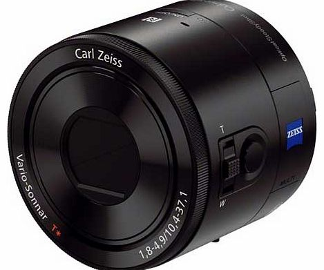 DSC-QX100 20.2MP Lens Style Camera for