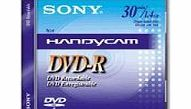 Sony DVD-R 1.4GB 8cm mini discs for camcorder - Pack 5