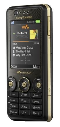 Sony Ericsson W660I WALKMAN BLACK (UNLOCKED)