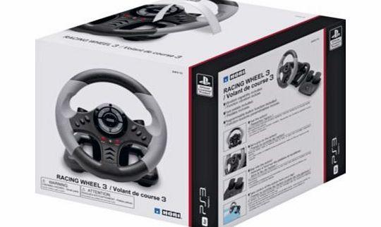hori steering wheel ps3 instructions