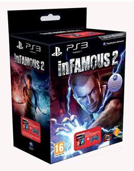 inFAMOUS 2 - Cosmic Blue Controller Bundle PS3