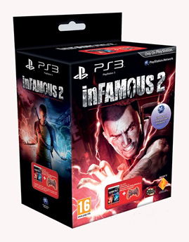 inFAMOUS 2 - Crimson Red Controller Bundle PS3