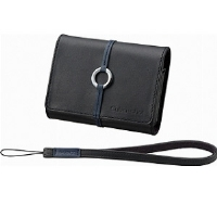 Sony LCS-TWB Black Leather Case for T W