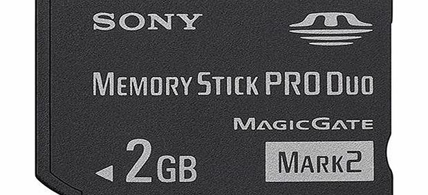 Sony Memory Stick PRO DUO (PSP Memory) - 2GB