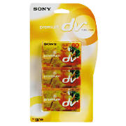 Mini DV Camcorder Tape 3 Pack
