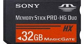 Sony MSHX32G 32GB Memory Stick PRO-HG Duo
