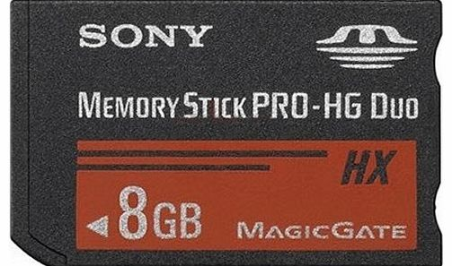 Sony MSHX8B 8GB Flash Memory Card without adaptor
