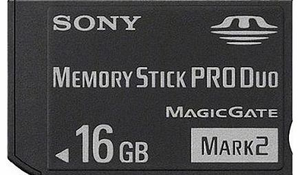 Sony MSMT16GN 16GB Memory Stick PRO Duo Card