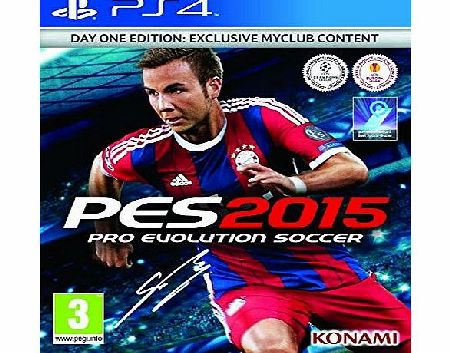PES2015-DAY1 Console Games and Accessories