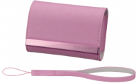 Pink Leather Case - LCS-CSVAP for Digital