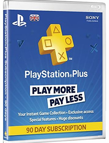PS-PLUS-90DAY Console Games and Accessories