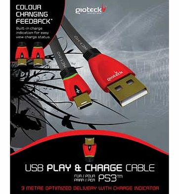 PS3 Play and Charge Cable