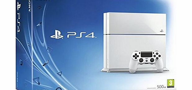 PS4 Console - White (PS4)