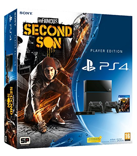 PS4 Console and InFamous: Second Son Player Edition (PS4)