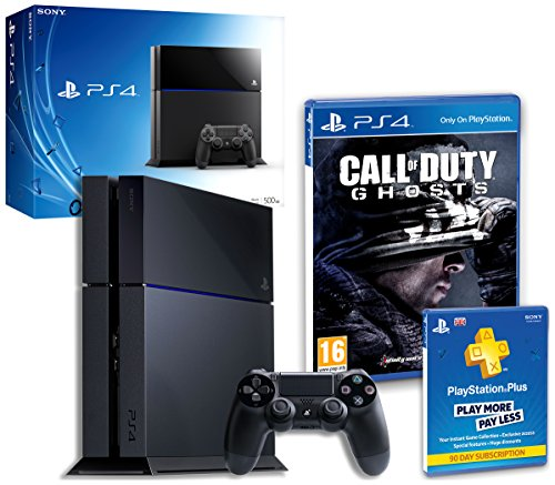 PS4 Console with Call of Duty Ghosts & PS+ 90 Days membership (PS4)