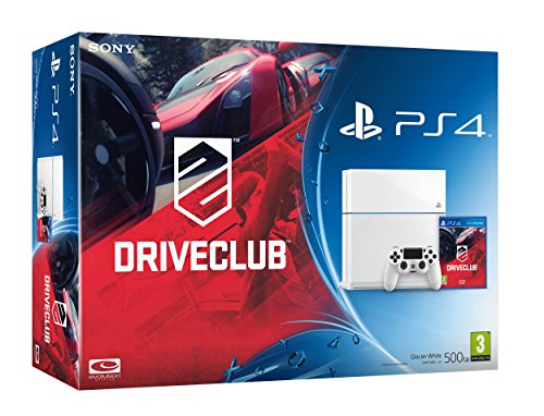PS4 Console with DriveClub - White (PS4)