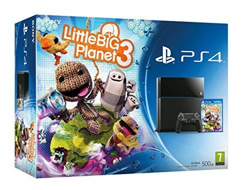 PS4 Console with LittleBigPlanet 3 (PS4)
