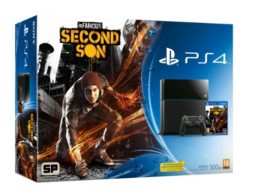 PS4 with InFamous: Second Son (PS4)