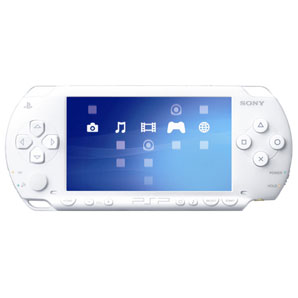 PSP Console White