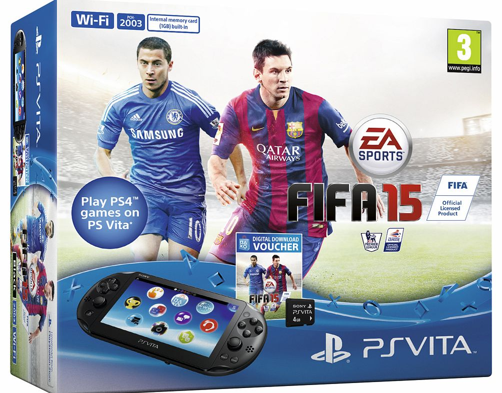 PSVITAFIFA15-DL Game Consoles