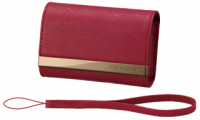 Red Leather Case - LCS-CSVAR for Digital