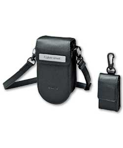 Silver Semi Soft Camera Case for Cyber-shot P200 LCMPHA