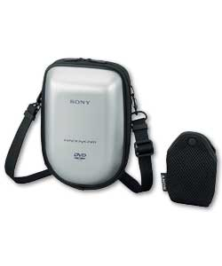 Silver Semi Soft Case for DVD Camcorders