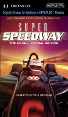 Super Speedway UMD Movie PSP