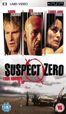 Suspect Zero UMD Movie PSP