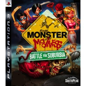 Monster Madness Battle for Suburbia PS3