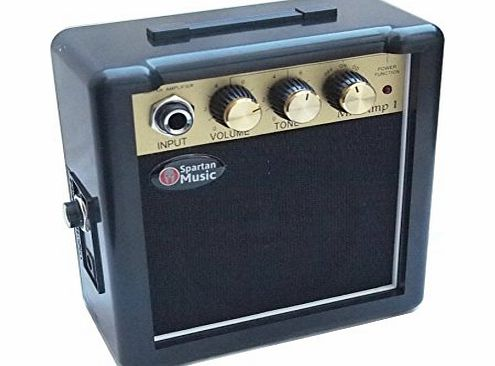 Spartan Music GuitarAC Portable Battery Powered Mini Amp for Electric Guitar