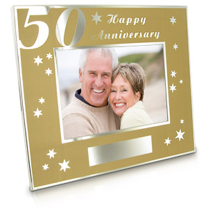 Moments 50th Anniversary Photo Frame