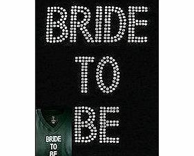 specialdaysandgifts Hen Night Party Iron On Bride To Be Diamante Transfer