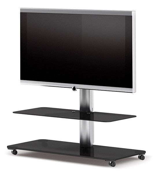 QX1211 Two Shelf TV Stand - Frosted