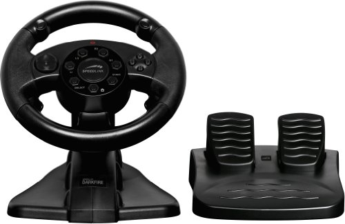 DARKFIRE Racing Wheel - Black (PS3/PC)