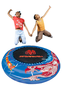 spiderman Trampoline and Pool Duo