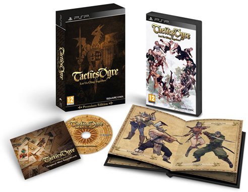 Square Enix Tactics Ogre Let Us Cling Together PSP